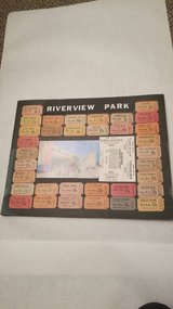 Vintage Riverview Park Tickets Stubs in St. Charles, Illinois