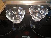 Set of 2 crystal bowls in Stuttgart, GE