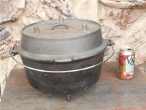 """8 qt. DUTCH OVEN, """"Lewis & Clark Corps. of Discovery"""", by CAMP CHEF in Vacaville, California"""