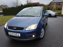 2006 FORD C MAX FOCUS 2.0 TDCI Turbo Diesel*NAVI GPS*cruise control *new inspection in Spangdahlem, Germany