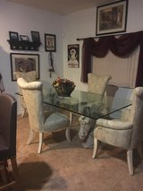 Egyptian Statue Horse Head Dining Set in Nellis AFB, Nevada