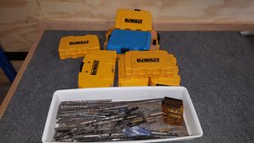 Dewalt Drill Bits / Screw Driver Bits and Misc Bits in Camp Lejeune, North Carolina