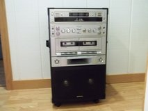 REDUCED!!!  KARAOKE SYSTEM SEMI-PRO 3 CD/CDG CAROUSEL W/ DUAL CASS. - 27 TAPES INC. in Camp Lejeune, North Carolina