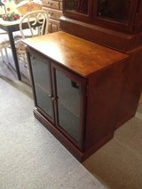 Small curio cabinet in Fort Campbell, Kentucky