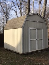 10x10 storage shed with loft in Pleasant View, Tennessee