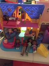 Doc McStuffins clinic house, figurines and check up set in Houston, Texas