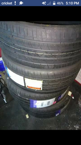 """275-25-r26"""" tires new never used in Fort Rucker, Alabama"""