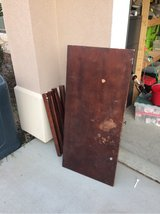 well used desk in Vacaville, California