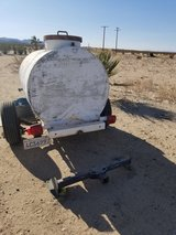 300 gal water trailer in 29 Palms, California