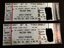 Holiday bowl tickets (2 for $40) in Vista, California