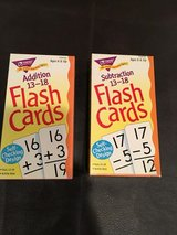 Number and addition flash card sets in Naperville, Illinois