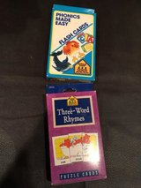 Phonics flash cards in Naperville, Illinois