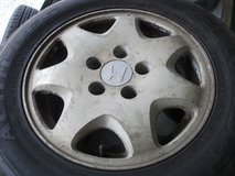 15inch rims and tires set(2) in Okinawa, Japan