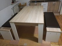 dining table, dining group with 2 benches in Spangdahlem, Germany