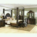 North Shore Canopy bed and Dresser w/ Mirror in Elizabethtown, Kentucky
