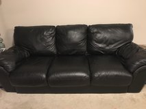 Leather Pull-Out Couch in Columbus, Georgia