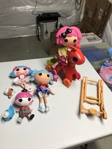 Lalaloopsy Dolls and rocking horse in Elgin, Illinois