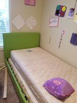 twin beds for sale 2 wooden beds and a pink and green bed in Fort Lewis, Washington