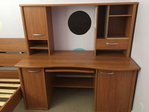 Desk and hutch in excellent condition in Vacaville, California