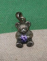 Silver Bear Pendant in Baytown, Texas