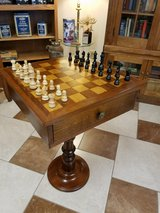 German Chess/Lamp Table in Fort Leonard Wood, Missouri