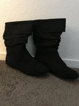Youth Black dress boots in Vacaville, California