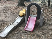 Roller coaster and climber slide in Beaufort, South Carolina