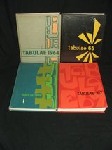 Lyons Township HS Yearbooks Tabulae 1964-1967 + Mini Tab 1991 reunion booklet in Bolingbrook, Illinois