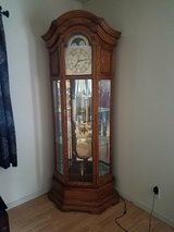 1994 Howard Miller Oak Grandfather Clock in Leesville, Louisiana