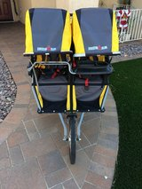 Bob IronMan Duallie Running Stroller w/car seat adapter in Camp Pendleton, California