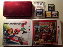 Nintendo 3DS, 2DS, 2 3DS games and 4 DS games in Yucca Valley, California