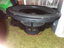 DC 13 inch Subwoofer and Amp !!! in Camp Lejeune, North Carolina