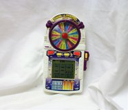 Vintage 1998 Wheel of Fortune Slot Handheld Casino Video Game Electronic Play in Kingwood, Texas