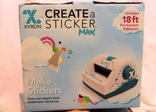 "NEW IOB Create a Sticker MAX by Xyron Die Cut Scrapbook Photos 5"" in Kingwood, Texas"