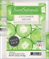 Scent Sationals Cucumber Melon Scented Wax Cubes Melt Aroma Therapy Perfume in Kingwood, Texas