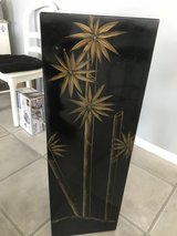 black oriental wood pedestal in Shorewood, Illinois