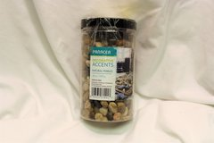 Panacea Decor Accents Natural River Pebbles 45 oz Brown Stream Woods Forest Rocks Plants Flower ... in Kingwood, Texas