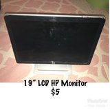 """19"""" HP  LCD Monitor in Chicago, Illinois"""