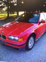 """93"""" Red BMW 325I Coupe in Naperville, Illinois"""