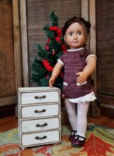 Vintage American Girl size Chest of Drawers in Warner Robins, Georgia