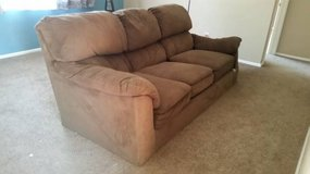 Microfiber couch in Fort Carson, Colorado