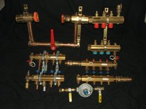 "Viega Radiated Heat Brass Supply & Return Manifolds 1 ¼"" & 1 ½"" + More New in Naperville, Illinois"