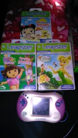 Leapster 2 with 3 games in Warner Robins, Georgia