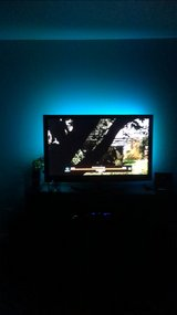 """50"""" plasma flat screen with rear LED light strip with remotes in Barstow, California"""
