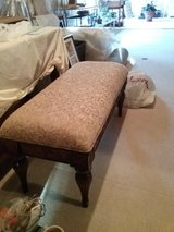 Bombay Co Upholstered Bench(end of bed) in Quantico, Virginia