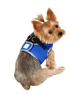 NEW SimplyDog Blue Harness XS (up to 10 lbs) Reflective Safety Walk Leash in Kingwood, Texas