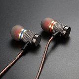 New - Dynamic Stereo Aluminum Earphones with Microphone, Noise Cancelling in Okinawa, Japan