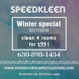 carpet cleaning winter deal in Naperville, Illinois