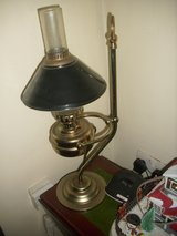 brass electric lamp in Lakenheath, UK