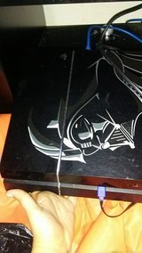 Darth Vader edition PS4 w/ games in Leesville, Louisiana